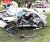 Un violent face-à-face est survenu un peu plus tôt ce matin, à Saint-Gilles, dans Lotbinière.