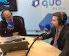 Gabriel Nadeau-Dubois était l'invité d'Antoine Robitaille, mardi, au micro de Là-haut sur la colline à QUB Radio.