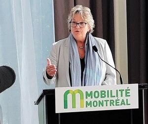 <b>Chantal Rouleau</b><br /><i>Ministre déléguée aux Transports</i>