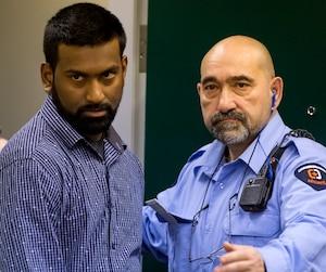 Sivaloganathan Thanabalasingham, qui a échappé à son procès pour le meurtre de sa femme, a été expulsé du Canada mercredi soir en direction de son Sri Lanka natal, où il pourra refaire sa vie.