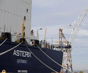 Des centaines d'emplois sont menacés au chantier Davie en raison de la livraison imminente du ravitailleur Astérix au gouvernement fédéral.