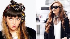 Image principale de l'article Mode d'emploi: porter le foulard de 1001 façons!