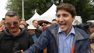 Justin Trudeau devient la risée du pays