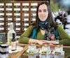 Estelle Mainguy est conseillère dans la boutique et distillerie Aliksir à Grondines, dans Portneuf.