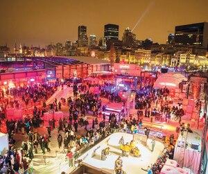 L'organisation du Carnaval de Québec est bien au fait du succès que connaît Igloofest à Montréal. La fête attire des milliers de jeunes amateurs de musique électronique qui viennent danser à la belle étoile.