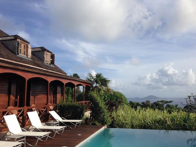 Les Jardins Malanga, Basse-Terre, Guadeloupe.Janvier 2016.SARAH BERGERON-OUELLET  / AGENCE QMI