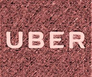 Logo Uber au crayon