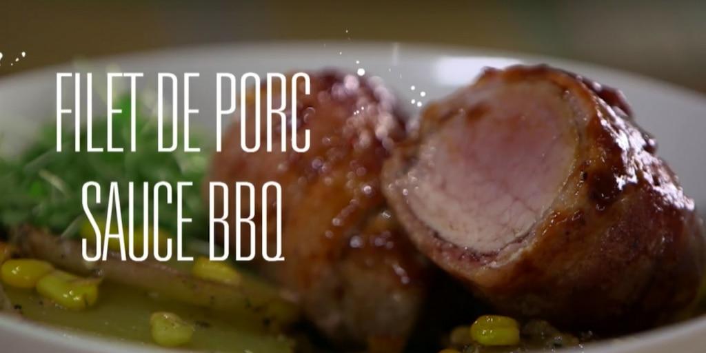 Filet de porc sauce BBQ