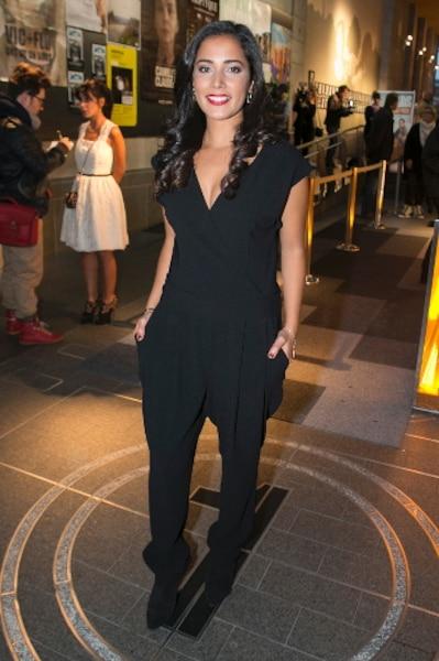L'actrice Nadia Kounda, qui campe le rôle de Djalila, était de la première québécoise.