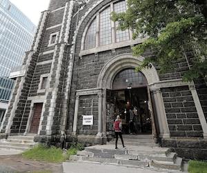 La Ville refuse de changer le zonage pour le projet immobilier du promoteur Louis Lessard.Sur la photo, l'église Saint-Coeur-de-Marie, située sur la Grande Allée, photographiée jeudi. Celle-ci est la propriété de M.Lessard.