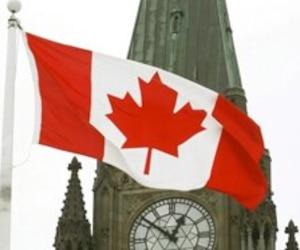 Bloc fédéral drapeau canadien canada