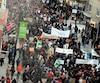 MARCHE CONTRE LE RÉCHAUFFEMENT CLIMATIQUE