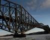 La rouille ne nuit pas à la solidité du pont de Québec, selon les experts gouvernementaux.
