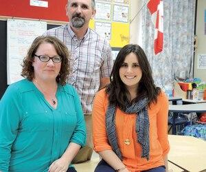 Pamela Morris, Don Campbell et Vanessa Zahra enseignent à l'école primaire Madoc Drive, à Brampton, où ils suivent des ateliers de formation tous les mois.