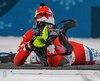 Le quatuor canadien a pris le 10e rang du relais 4 x 6 km féminin de biathlon, jeudi, aux Jeux olympiques de Pyeongchang.