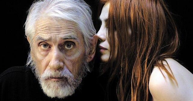 Gilles Carle aura été habité d'une puissante nécessité de créer jusqu'à la fin de ses jours. Il pose ici avec sa compagne, Chloé Sainte-Marie.