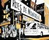 <b><i>Rues de Montréal</i>, Collectif</b><br /> L'album sera lancé lors de la 8e édition du fbdm qui se tiendra du 24 au 26 mai à l'espace Lafontaine.