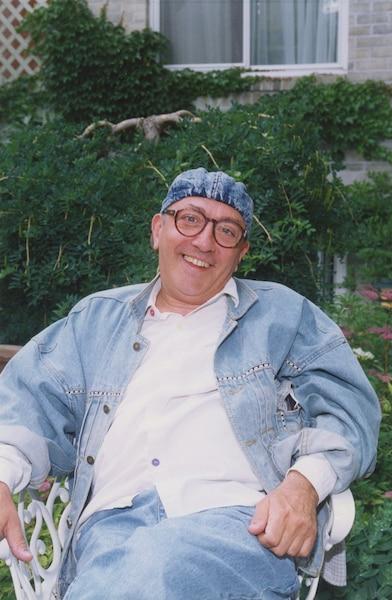 le comédien André Montmorency 18 juillet 1992 PHOTO RAYMOND BOUCHARD / LES ARCHIVES / LE JOURNAL DE MONTREAL