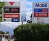 Les concurrents de Mobil, Canadian Tire et Ultramar, avaient baissé leur prix, vendredi.
