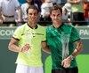 Rafael Nadal et Roger Federer sont engagés dans une enlevante course vers le titre mondial.