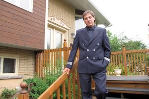 Yves Lavoie, un capitaine des pompiers de Montréal, a décidé de prendre sa retraite jeudi