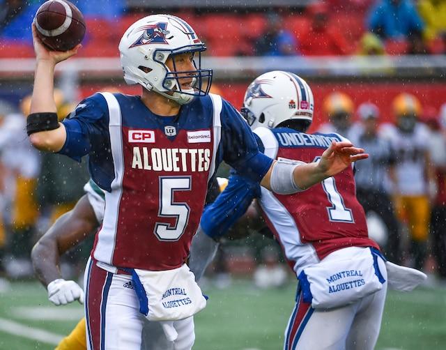 Les Alouettes de Montréal ont été écartés de la course aux éliminatoires de la Ligue canadienne de football (LCF).