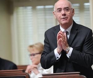 Le ministre des Transports, Jacques Daoust.