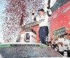 Brad Keselowski a célébré sa victoire remportée sur le super ovale de Talladega.