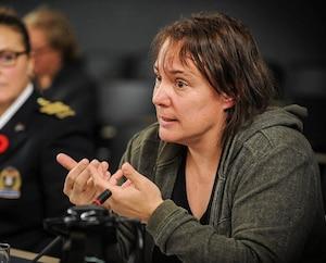 Geneviève Quinty, directrice générale du Projet Intervention Prostitution Québec
