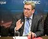 En marge d'une annonce à saveur économique, Régis Labeaume s'est fait poser plusieurs questions au sujet de l'abandon du projet de Service rapide par bus (SRB), Québec/Lévis.