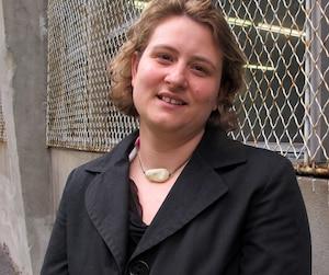 La présidente de la CSDM, Catherine Harel-Bourdon.
