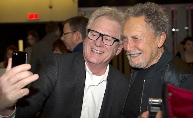 Claude Saucier et Jacques Michel