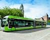 Il n'y a rien de prévu pour la mise en place d'un Système rapide par bus (SRB) ou d'un tramway.