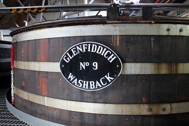 La distillerie Glenfiddich, à Dufftown.