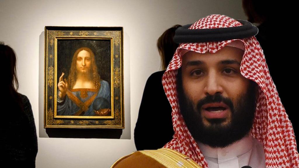 Le prince héritier d'Arabie saoudite se fait avoir et paye 600 millions de dollars pour une fausse toile de de Vinci