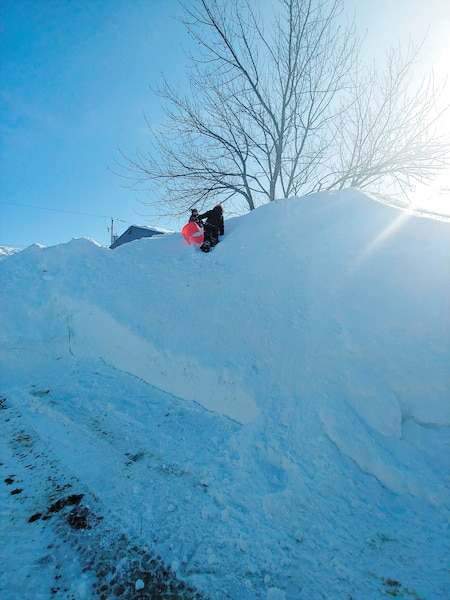banc de neige galerie