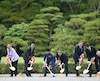 Les dirigeants du G7 au Japon.