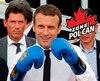 Le président français Emmanuel Macron lors d'un événement organisé en juin 2017 pour promouvoir la candidature de Paris aux Jeux olympiques de 2024.