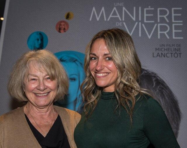 Micheline Lanctôt et Simone Rose