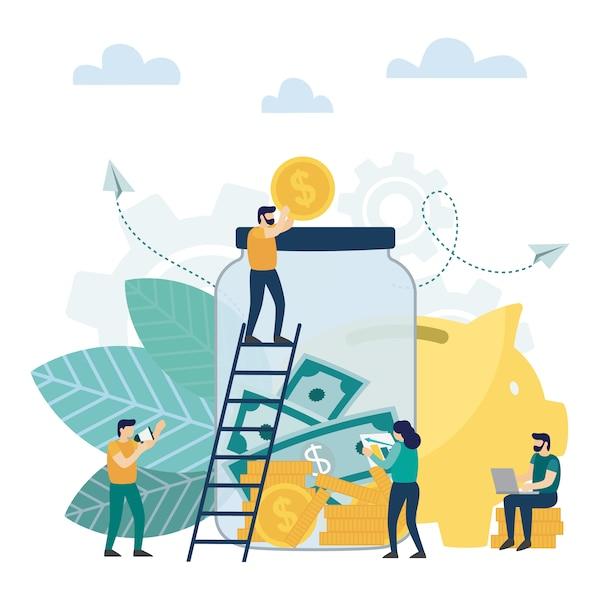 Money Savings Concept, Moneybox