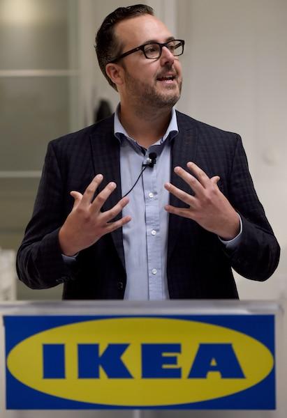 Le directeur par intérim d'IKEA Canada, David McCabe