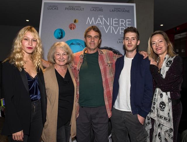 Rose-Marie Perreault, Micheline Lanctôt, Laurent Lucas, Pierre-Luc Lafontaine et Gabrielle Lazure
