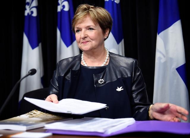 «Les éléments sont en place» pour augmenter les risques de corruption et de collusion en informatique, selon la vérificatrice générale, Guylaine Leclerc.