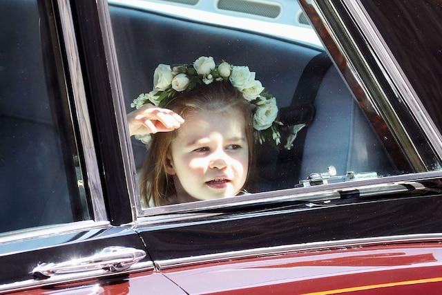 La princesse Charlotte.