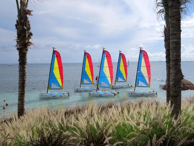 Le Club Med est l'endroit idéal pour apprendre ou pratiquer un sport.