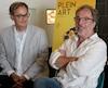 Martin Thivierge, directeur général de Plein Art, et l'animateur et comédien Christian Bégin, porte-parole de la 37e édition de cet événement qui débute le 1er août.