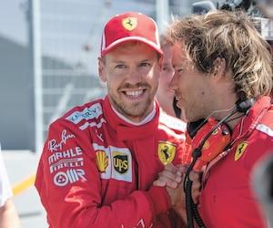Le détenteur de la position de tête, Sebastian Vettel, a rappelé l'apport de Gilles Villeneuve au sport automobile.