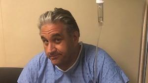 Marc Hervieux a passé un séjour à l'hôpital