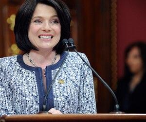 La députée libérale de Chauveau, Véronyque Tremblay.