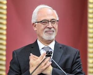 Carlos Leitao, à la cérémonie d'assermentation des députés libéraux le lundi 15 octobre 2018